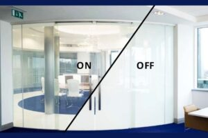 smart glass for commercial space